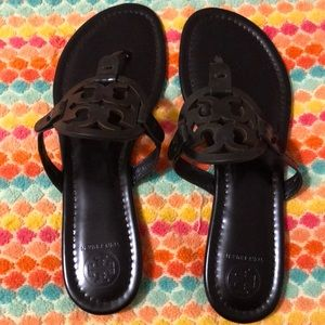 Black Tory Burch new sandals never worn